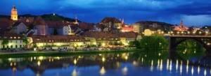 Maribor di notte - Slovenia