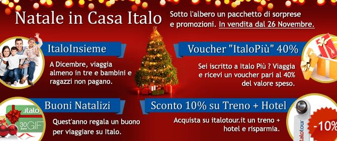 Italo ti fa il regalo di Natale