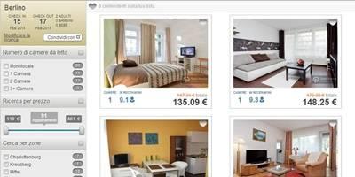Prenotare appartamento vacanze in Europa