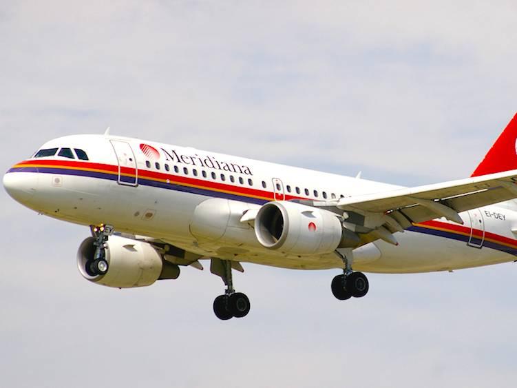 Meridiana vola verso la Russia