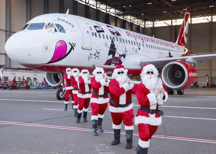 Air Berlin Natale