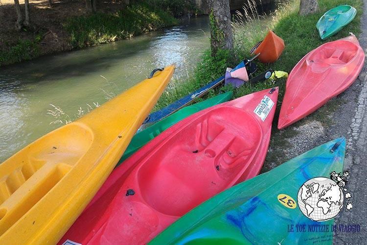 Cosa fare marca trevigiana: canoa Parco del Sile
