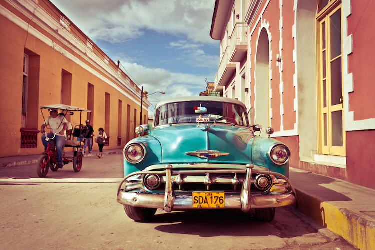 In volo dagli Stati Uniti verso Cuba