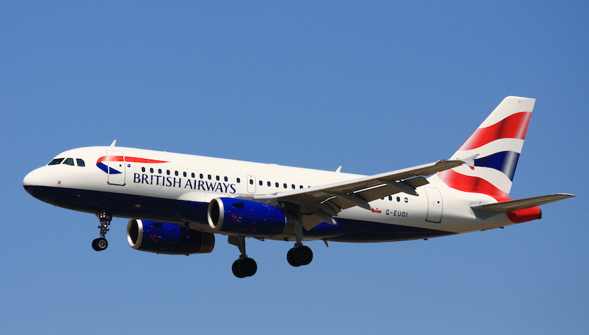 British Airways continua a volare in Sicilia