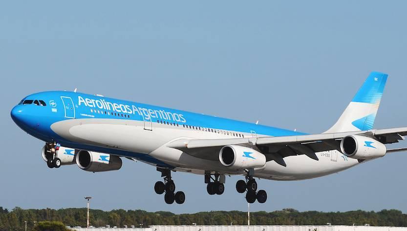 """Entra nel """"blu"""" di Aerolíneas Argentinas"""