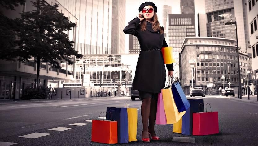 vie dello shopping
