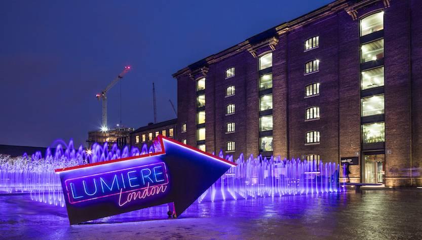 Tra gli eventi di Londra torna Lumiere London