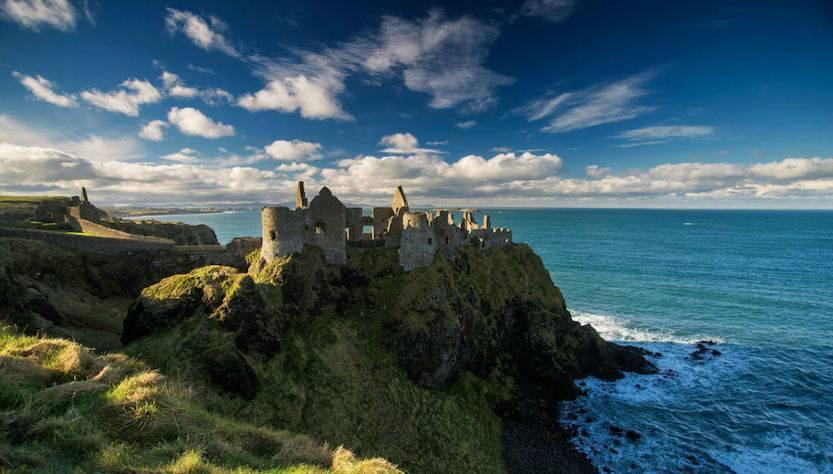 Dunluce castle Irlanda