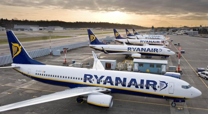 Ryanair sconvolge i cieli d'Europa
