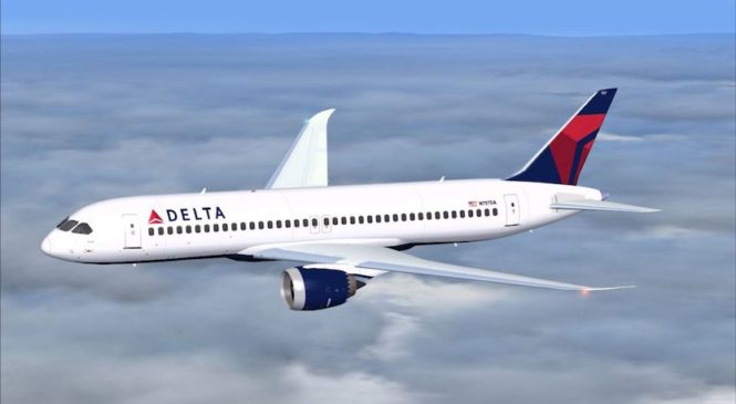 Delta Airlines introduce un servizio di sms a bordo