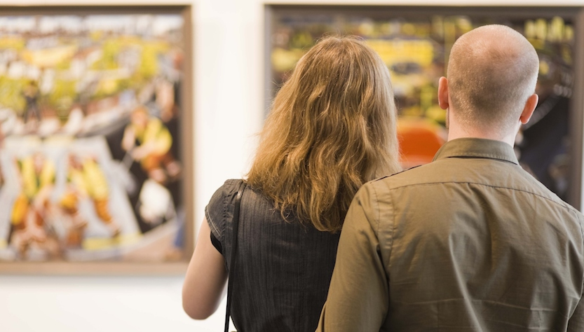 visitare mostre d'arte