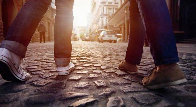 Andiamo a camminare in città