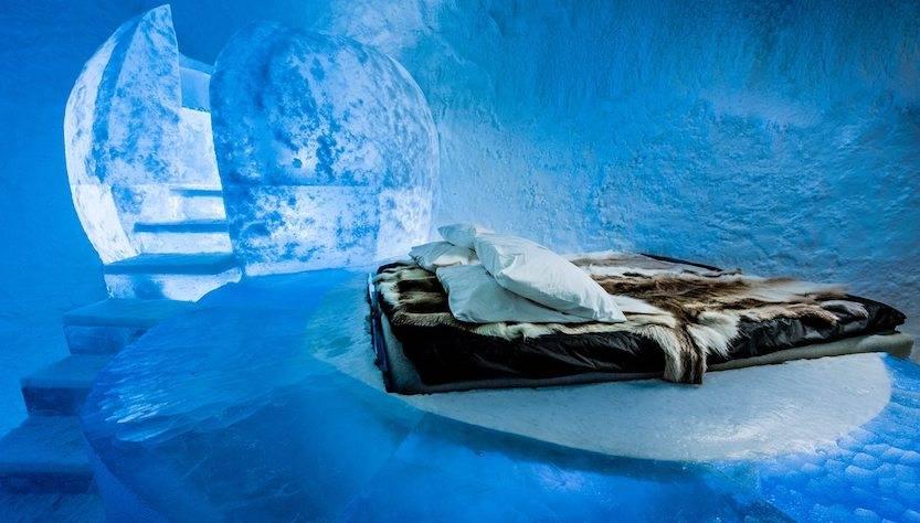 viaggi per vedere l'aurora boreale: Ice hotel