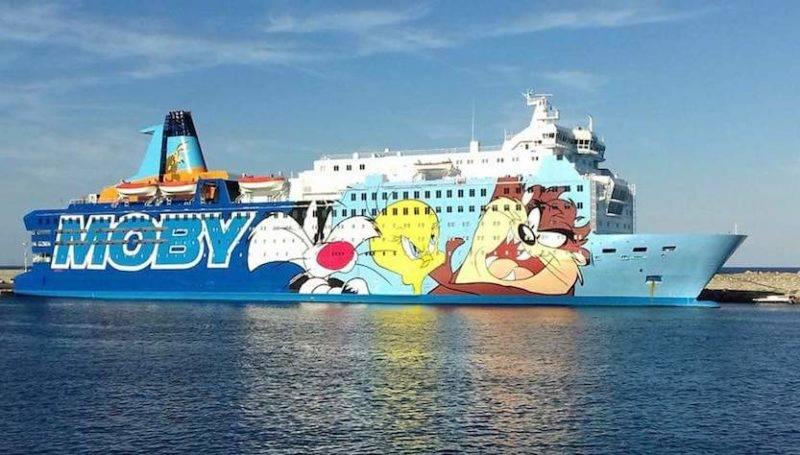 Traghetti Sardegna Moby