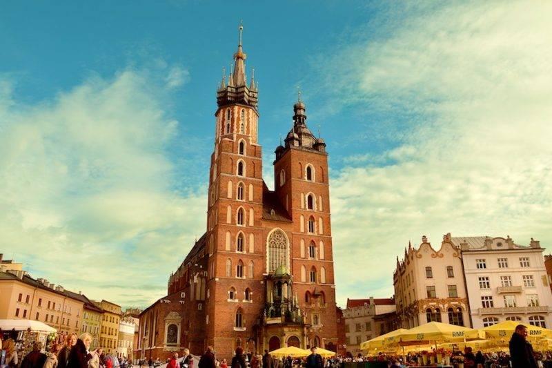 Viaggi in moto in Europa: Cracovia
