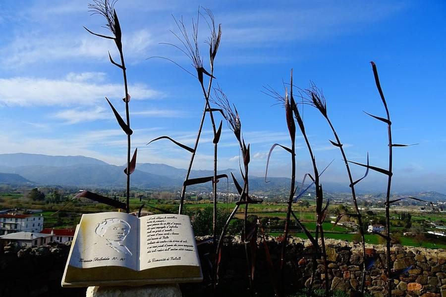 Parco letterario Grazia Deledda a Galtellì